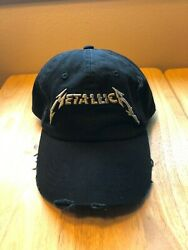 Metallica Worldwired Tour Black Adjustable One Size Fits All Stapback Hat  $29.99