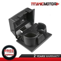 Dash Mounted Dual Water Cup Holder For 08-16 Ford Super Duty Truck F250-f550