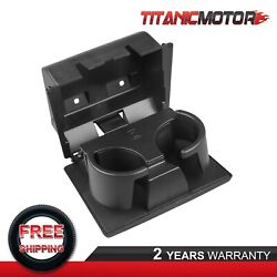 In-dash Fold Down Water Cup Holder For 08-16 Ford F250 F350 F450 F550 Truck