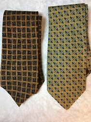 Michael Jacobs for Nordstrom and J.Z. Richards for Norstroms Mens Ties Lot of 2 $6.90