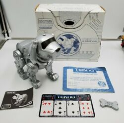 Tekno The Robotic Puppy With Accessories.