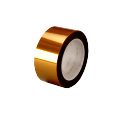 3m Linered Low-static Polyimide Film Tape 5433 Amber, 24 In X 36 Yds X 2.7 Mil