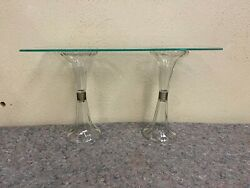 Antique Glass General Store Display Shelf Supports Supports Only