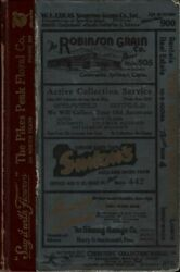COLORADO SPRINGS 1939 RL POLK CITY BUSINESS DIRECTORY COUNTY REFERENCE GUIDE CO