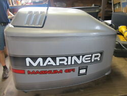 1996 - 03 Mariner Magnum 200 Hp Efi 2.5 Liter Top Engine Cowling Cover Nice Cond