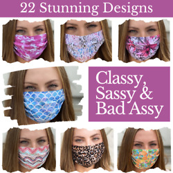 Cute Sexy Stylish & Fashionable Face Masks with Soft Cotton & Reusable $12.99