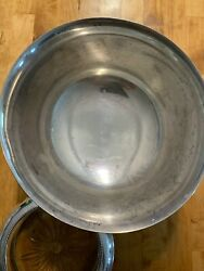 Paul Revere Exemplar By Fina Sterling Silver Large Bowl 1768 8 Wide 5 High