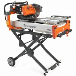 Husqvarna Ts70 Ceramic Tile Saw Up To 28-inch Length Stand Sold Separately