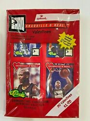 Vintage Authentic Hallmark Shaquille O'neal Valentines Card 1994 Sealed