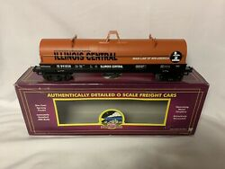 ✅mth Premier Illinois Central Coil Car 20-98333 For O Scale Train Set Steel Mill