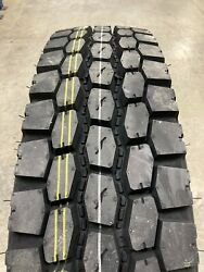 8 New Tires 11 R 22.5 Power King Navitrac Osd N575 Traction 16 Ply 11r22.5