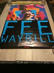 Fee Waybill Read My Lips Promotional Poster Extremely Rare