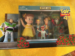 Disney Pixar Toy Story 4 Antique Shop Adventure 8 Pack Collectible New In Box