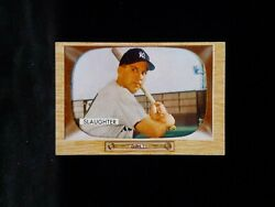 1955 Bowman #60 ENOS SLAUGHTER* YANKEE* CLEAN CORNER EDGE WEAR SEE PHOTOS