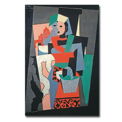 Land039italienne By Pablo Picasso Gallery-wrapped Canvas Giclee Art 24 In X 16 In