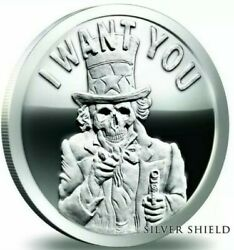 2018 5 Oz .999 Pure Silver Shield Proof Slave Uncle Members Only Round Coin Coa