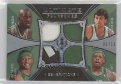 2008 Ultimate Collection Generations /10 Kevin Mchale Paul Pierce Rookie Patch
