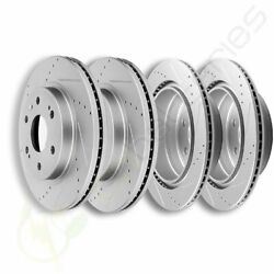 Front Rear Brake Rotors Fit For Chevrolet Tahoe 2008- 2015 2016 2017 2018