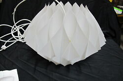 Vintage George Nelson Butterfly 17 X 12 Hanging Lamp Original
