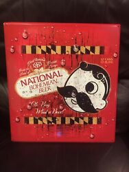 National Bohemian Metal Tin Sign Oh Boy What A Beer Mr Natty Boh Baltimore Md
