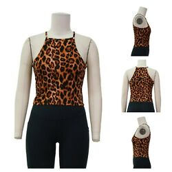Womens Cute Animal Printed Summer Tank Top Sizes S-M-L $9.99