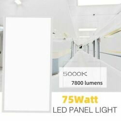 12pc 2x4 Ft 75w Bar Kitchen Bedroom Square Led Recessed Ceiling Flat Panel Light