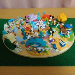 Toon Town Tokyo Disneyland Diorama Completed Discontinued Rare Gc Jp 2007 Lmt