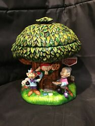 Wow Keebler Cookie Jar Millennium Hollow Tree Large And C2001. S