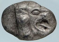 Chersonesos Caria Authentic Ancient Archaic 500bc Silver Greek Coin Ngc I85483