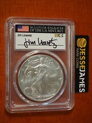 2019 W Burnished Silver Eagle Pcgs Sp70 Licaretz Signed First Day Issue Pop 25