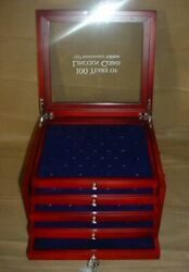 1909-2010 Lincoln Penny Stamp Display Case 100 Years 150th Anniversary Edition