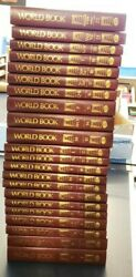 Complete World Encyclopedia 1997 22 Volume Set And 2 World Book Dictionary