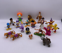 Lot Of Disney Mini Figures Toys Mixed Lot Of 19 Vintage To Now