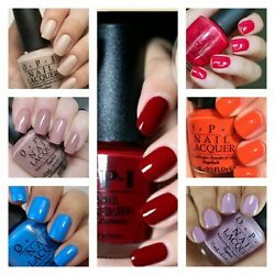 OPI NAIL POLISH YOU Choose Color NEW AND FULL SIZE BUY MORE AND SAVE