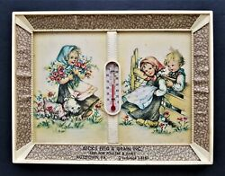 Vintage Advertising Thermometer Kutztown Pa Beck's Feed Grain Poultry Dairy