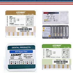 25mm Dental Endodontic Root Canal Niti /heat Activated Engine Use Rotary File