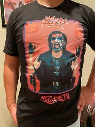 King Diamond Mega Metal The Eye era Vintage 80s Metal Horror t-shirt tee new $24.00