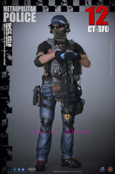 Soldier Story 1/6 Ss112 Metropolitan Police Ct-sfo Action Figure Toy In Stock