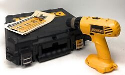 Dewalt Dw928 14.4 V 3/8 Cordless Drill Driver Bare Tool Only W/case