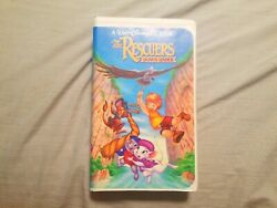 Rare Black Diamond The Rescuers And The Rescuers Down Under Vhs Bundle