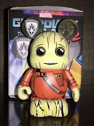 Groot Red Vest Variant 3 Vinylmation Guardians Of The Galaxy Vol. 2