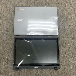 Acer Chromebook C720 C720p Grey Lcd Touch Screen + Grey Back Cover N116bge-ea2
