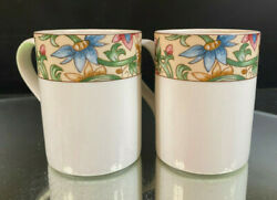 Royal Doulton--jacobean--2 Mugs--six 6 Sets Of Two Available--very Nice