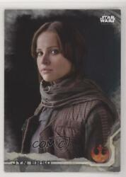 2016 Topps Star Wars Rogue One Series 1 Grey Squad 6/100 Jyn Erso 1 0ad