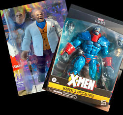 Baf Lot Marvel Legends Retro Kingpin And Deluxe Apocalypse In Hand. Nip Ships Now