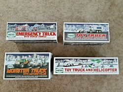 Hess Toy Trucks 2005, 2006, 2007, 2008  New In Box - Free Shipping Free Gift