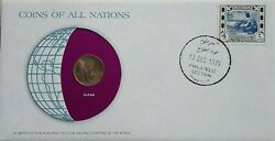Sudan 1979 Coins Of All Nations Limited Edition Cover With Insert Coin