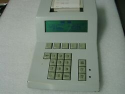 Nordson Dage 2400 2400a Keypad Printer Console Controller Keyboard W. Paper Roll