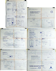 Vintage Star Trek Single Sheet Blueprint Collection-18x24 — Your Choice Of 6