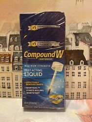 Compound W Wart Remover Maximum Strength Fast Acting Liquid Exp01/21 Lot Of 4